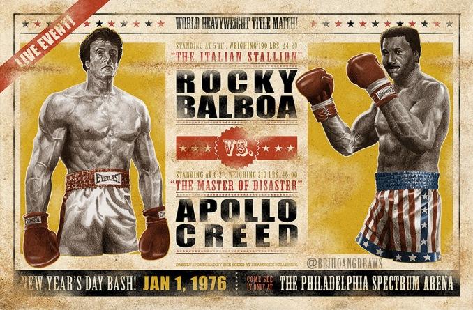 J2 Rocky vs. Apollo